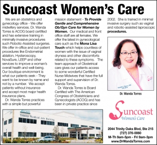 Suncoast Women's Care