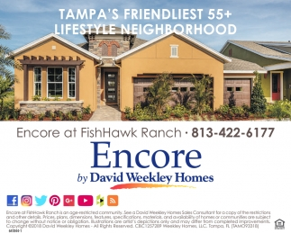 Tampa's Friendliest 55+ Lifestyle Neighborhood