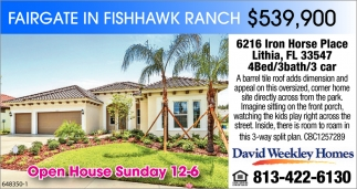 Fairgate In Fishhow Ranch $539,900