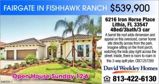 Fairgate In Fishhow Ranch $539,900