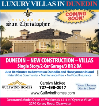 Dunedin - New Construction - Villas