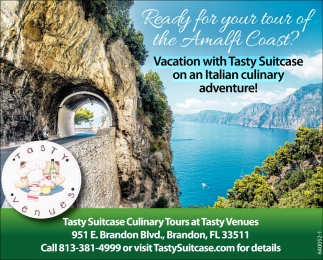 Vacation With Tasty Suitcase On An Italian Culinary Adventure!
