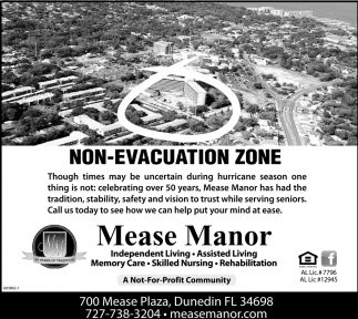 Non-Evacuation Zone