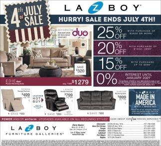 4th Of July Sale La Z Boy Furniture Galleries Tampa Fl