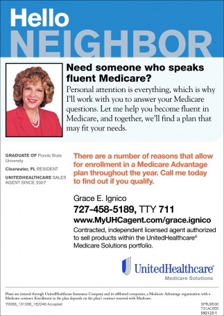Need Someone Who Speaks Fluest Medicare?