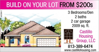 BUILD YOUR LOT FROM $200S