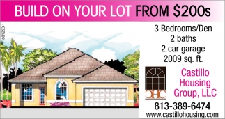 Build On Your Lot From $200s