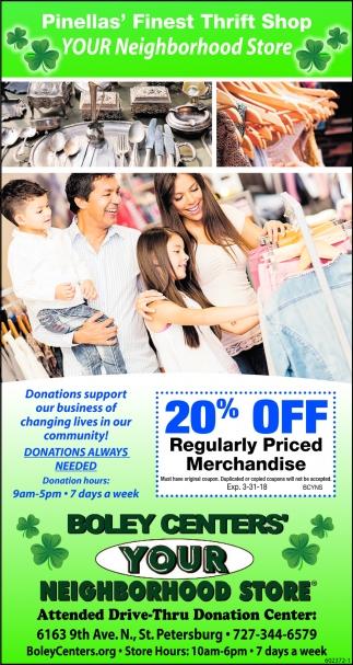 Pinellas' Finest Thrift Shop