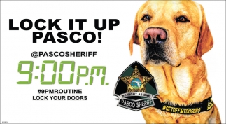 Lock It Up Pasco!
