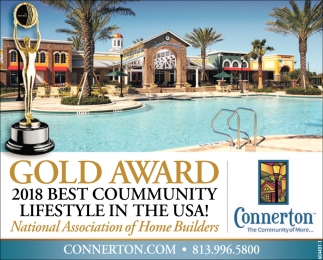 2018 Best Community Lifestyle In The USA!
