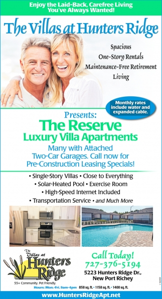 Reserve Luxury Villa Apartments