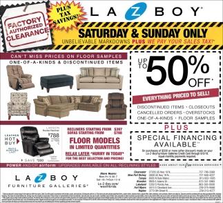 Up To 50 Off La Z Boy Furniture Galleries Tampa Fl