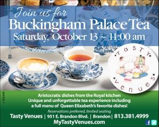 Buckingham Palace Tea
