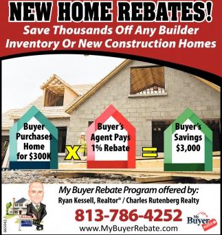 new home rebates my buyer rebate