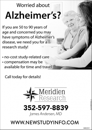 Worried About Alzheimer's?