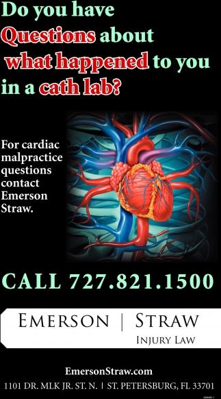 For Cardiac Malpractice