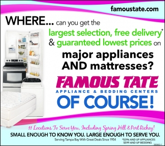 Large Enough To Serve You Famous Tate Liance Bedding