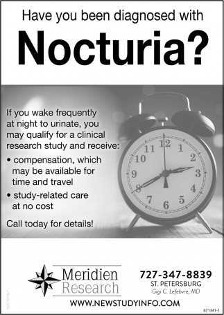 Have You Been Diagnosed With Nocturia?