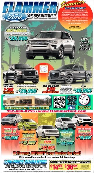 Summer Sales Event