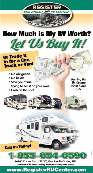 How Much Is My RV Worth?