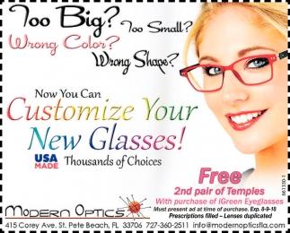 Modern optics array customize your new glasses modern optics saint petersburg fl rh local tampabay fandeluxe Images