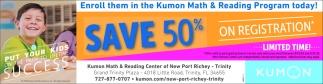 Save 50% On Registration