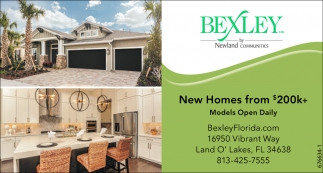 New Homes From $200K+