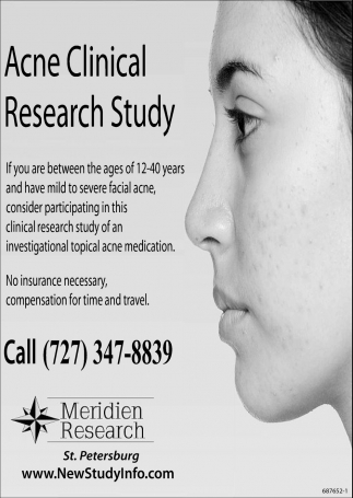 Acne Clinical Research Study
