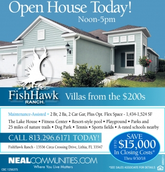 Open House Today!