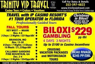 TRAVEL WITH IP CASINO RESORT'S