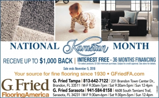 Interest Free - 36 Month Financing