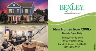 New Homes From $200k