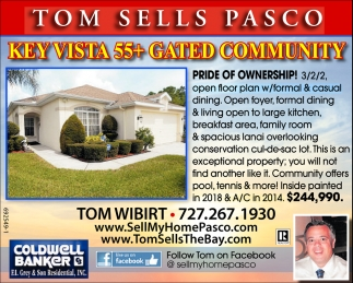 KEY VISTA 55+ GATED COMMUNITY