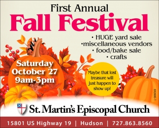 First Annual Fall Festival
