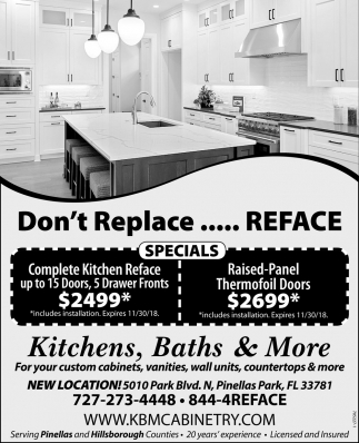 Don't Replace... Reface
