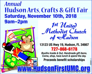 Annual Hudson Arts, Craft & Gift Fair