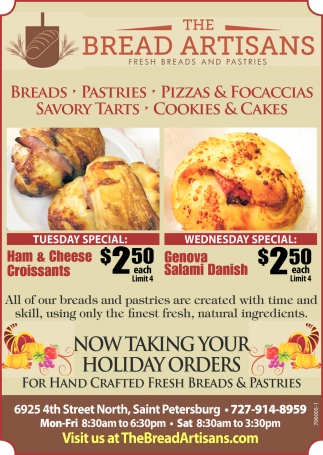 Now Taking Your Holiday Orders