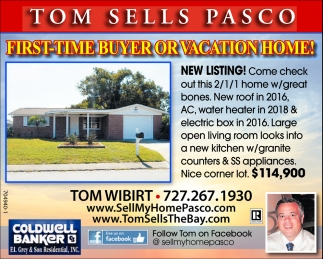 FIRST-TIME BUYER OR VACATION HOME