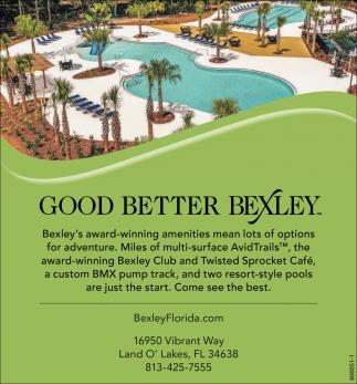 Good Better Bexley