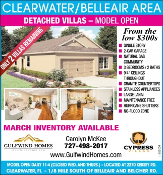 Detached Villas - Model Open