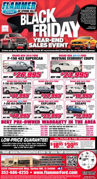 Black Friday Year-End Sales Event