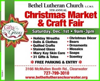 Christmas Market & Craft Fair, Bethel Lutheran Church