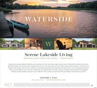 Serene Lakeside Living