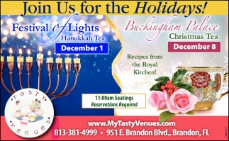 Join Us For The Holidays!