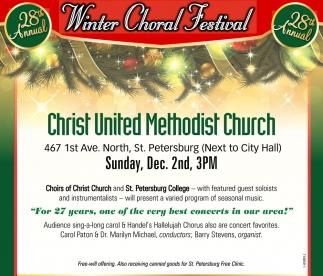 Winter Choral Festival