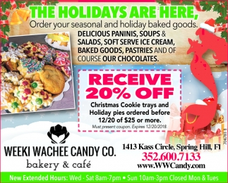 Receive 20% Off