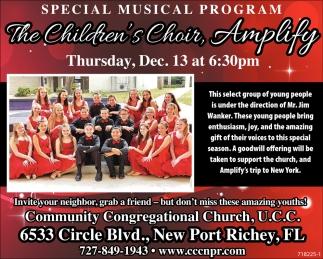 Special Musical Program