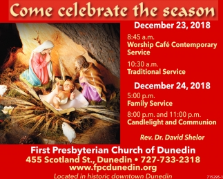 Come Celebrate The Season