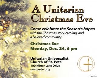 A Unitarian Christmas Eve