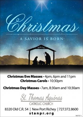 Christmas A Savior Is Born